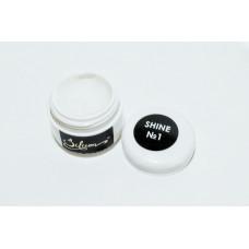 Акрил-гель с шиммером для наращивания ногтей Silicon Acryl Gel UV/Led, 5 г