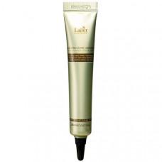 Интенсивная ночная восстанавливающая сыворотка для поврежденных волос Lador Keratin Power Fill Up Sleeping Clinic Ample, 20 мл