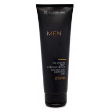 Гель для душа 2 в 1 для тела и волос Academie Hair and Body Shower Gel 2 in 1, 250 мл