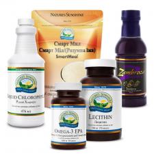 Комплексная программа Здоровье с NSP круглый год Nature's Sunshine Products, 1 упаковка