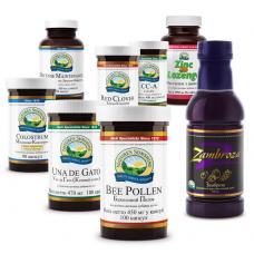 Комплексная программа Сильный иммунитет Стоп простуда Nature's Sunshine Products Strong Immunity Kit, 1 упаковка