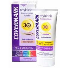 Солнцезащитный крем для нормальной кожи лица COVERMARK Rayblock Face Plus Normal SPF 30, 50 мл