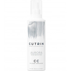 Тонирующий серебряный мусс CUTRIN Aurora CC Silver Mousse, 200 мл