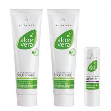 Набор для здоровой улыбки LR Health and Beauty ALOE VIA Aloe Vera, 1 упаковка, 20705