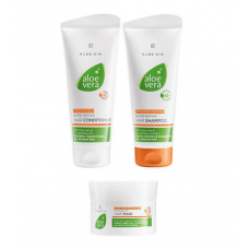 Набор для обновления и ухода за волосами LR Health and Beauty ALOE VIA Aloe Vera, 1 упаковка, 20763