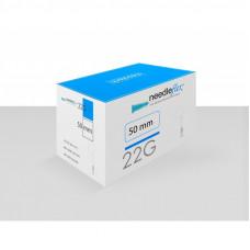Канюля для контурной пластики MesoTech 22G x 50 мм Needleflex, 1 шт