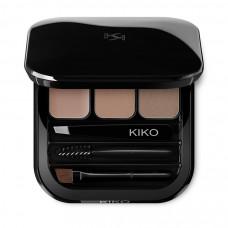 Палетка для коррекции бровей KIKO MILANO Eyebrow Expert Palette, 2,4 г