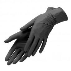 Нитриловые перчатки черные Eco Cosmetic, 1 шт