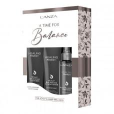 Набор для восстановления баланса кожи головы и волос LANZA Healing Remedy Holiday Trio Box, 1 упаковка