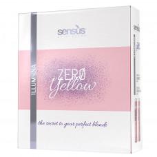 Набор против желтизны волос SENSUS Kit Zero Yellow Retail, 1 упаковка