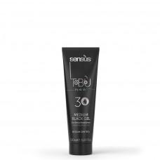 Моделирующий черный гель для волос SENSUS Gel Nero Modellante Medium Black Gel 30, 150 мл