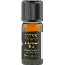 Композиция 100% эфирных масел Для автомобилиста STYX Naturcosmetic Autofahrer Mix, 10 мл