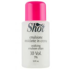 Кремовая окисляющая эмульсия 9% Shot Oxidizing Emulsion Cream 30 Vol, 150 мл