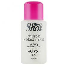 Кремовая окисляющая эмульсия 12% Shot Oxidizing Emulsion Cream 40 Vol, 150 мл