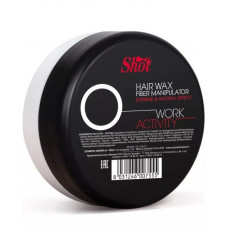 Воск-манипулятор с экстремальным и натуральным эффектом Shot Hair Wax Fiber Manipulator Work Activity O, 100 мл