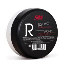 Воск сильной фиксации с матовым эффектом Shot Hair Wax Mat Work Activity R, 100 мл