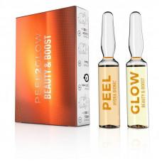 Пилинг Сияние и наполнение SKIN TECH Peel2Glow Hydra Bionic & Beauty Boost, 2х1,5 мл