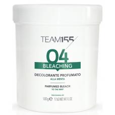 Парфюмированный обесцвечивающий порошок для волос TEAM 155 Bleaching Powder To Mint, 500 г