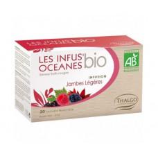 Травяной настой для легкости ног Океан THALGO Les Infus'Oceanes Jambes Legeres, 1 упаковка