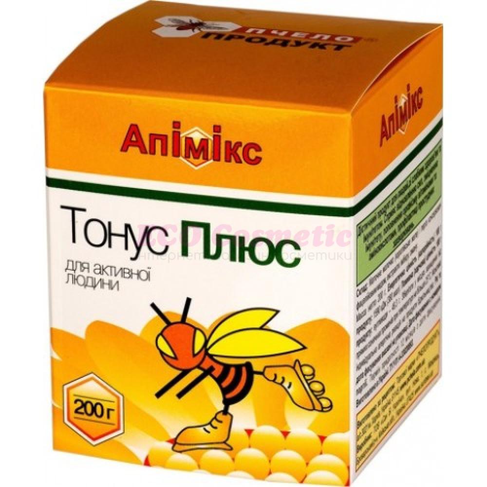 """Апимикс """"Тонус Плюс"""" с маточным молочком, пергой и экстрактами трав Пчелопродукт, 200 г"""