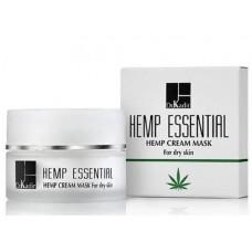 Маска-крем c экстрактом каннабиса для сухой кожи Dr. Ron Kadir Hemp essential oil serum for dry skin, 50 мл