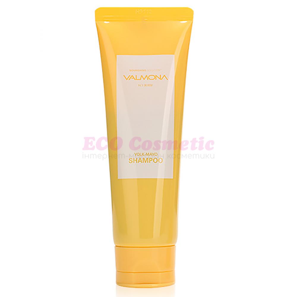 Питательный шампунь для волос с яичным желтком VALMONA Nourishing Solution Yolk-Mayo Shampoo, 100 мл