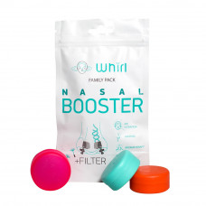 Семейный набор Whirl Nasal Booster Family Pack Edition, 1 упаковка