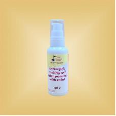 Гель антисептический охлаждающий после пилинга с гидролатом мяты Nikol Professional Cosmetics, 60 мл