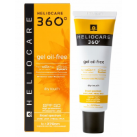 Солнцезащитный гель на водной основе Cantabria Labs Heliocare 360º Gel Oil-Free Dry Touch Sunscreen SPF 50, 50 мл