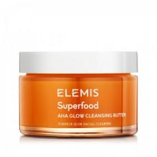 Масляный очиститель для сияния кожи Суперфуд Elemis Superfood AHA Glow Cleansing Butter, 90 мл