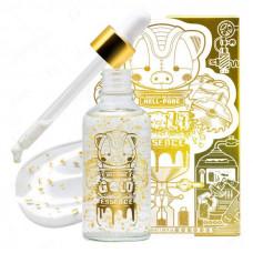 Омолаживающая увлажняющая эссенция с 24К золотом Elizavecca Milky Piggy Hell-Pore Gold Essence, 50 мл