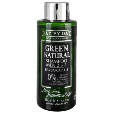 Шампунь мужской 2в1 Alan Jey Green Natural Shampoo Man 2in1, 250 мл