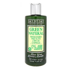 Маска для всех типов волос Alan Jey Green Natural Maschera Per Tutti I Tipi Di Capelli, 250 мл