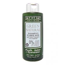 Шампунь очищающий от перхоти Alan Jey Green Natural Shampoo Purificante, 250 мл