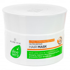 Восстанавливающая маска для волос LR Health and Beauty ALOE VIA Aloe Vera, 200 мл, 20730