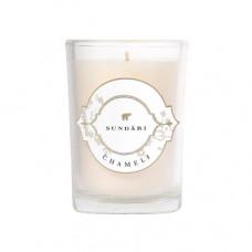 Свеча с энергией жасмина SUNDARI Candle – Chameli, 170 г