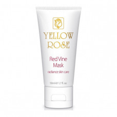 Маска с полифенолами красного винограда Yellow Rose Red Vine Face Mask, 50 мл