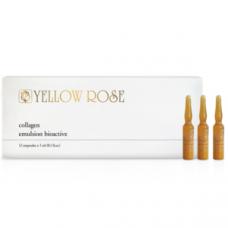 Увлажняющая сыворотка с натуральным морским коллагеном против морщин Yellow Rose Collagen, 12х3 мл