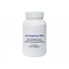 Антивозрастной нутрицевтик ABG Lab LLC CHRONOGENICS, 120 шт