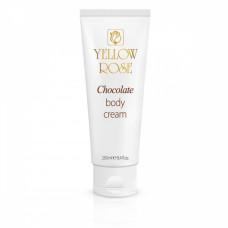 Шоколадный массажный крем Yellow Rose Chocolate body cream, 250 мл