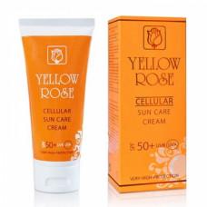 Антивозрастной солнцезащитный крем Yellow Rose Cellular Sun Care Cream SPF 50+, 50 мл