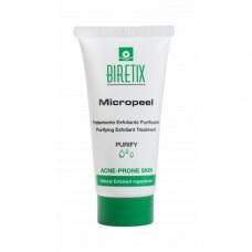 Очищающий скраб-эксфолиант для кожи с акне Cantabria labs Biretix Micropeel Purifying Exfoliant Treatment, 50 мл
