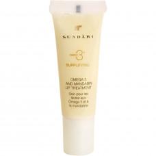 Смягчающий бальзам для губ SUNDARI Omega 3 and Mandarin Lip Balm, 12 мл