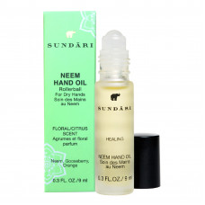 Масло для рук с композицией масел SUNDARI Neem Hand Oil for All Skin Types, 9 мл