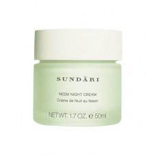 Увлажняющий деликатный ночной крем SUNDARI Neem Night Cream for All Skin Types, 50 мл