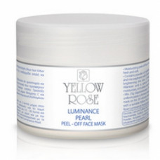 Пластифицирующая  маска с жемчугом Yellow Rose Luminance Pearl Peel-off Face Mask, 25 г