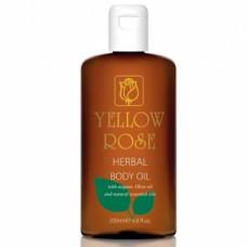 Питательное масло для тела Yellow Rose Herbal Body Oil, 200 мл