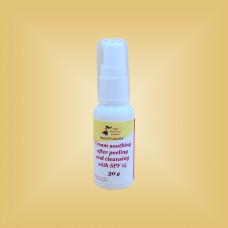 Крем успокаивающий после пилингов и чисток с SPF 15 Nikol Professional Cosmetics, 30 мл