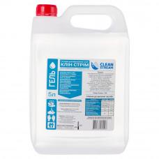 Дезинфицирующее средство для рук и поверхностей Clean Stream гелевая форма, 5 л