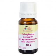 Гель смягчающий антисептический для вросших ногтей Normal 28% Nikol Professional Cosmetics, 10 мл